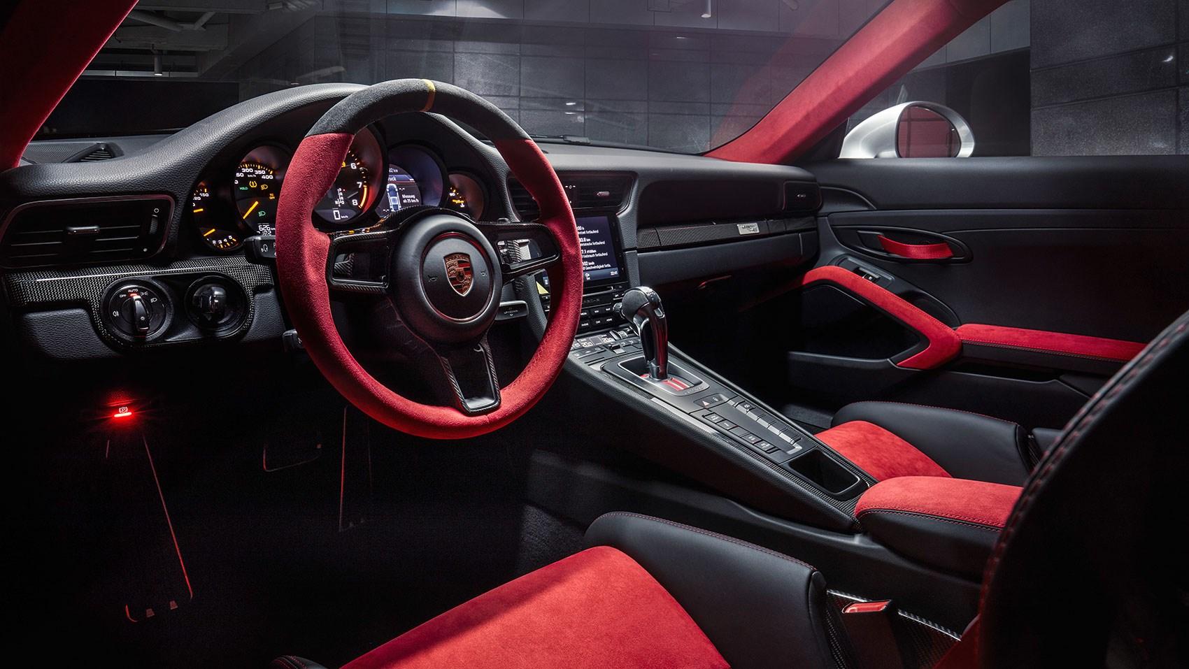 A Cool £208,000 Cabin Fervour: Inside The New Porsche 911 GT2 RS CARu0027s ...