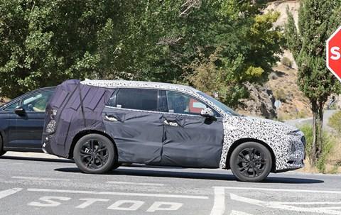 The new 2018 Hyundai Santa Fe
