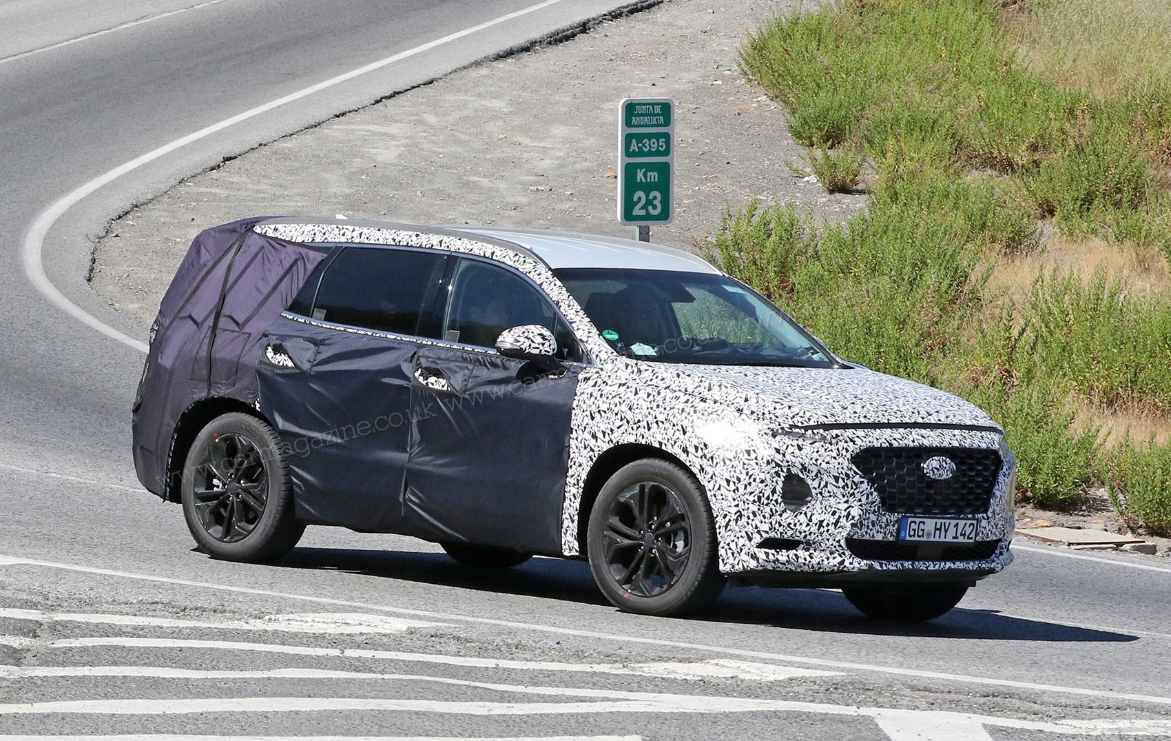 New 2018 Hyundai Santa Fe spy photos specs prices | CAR ...