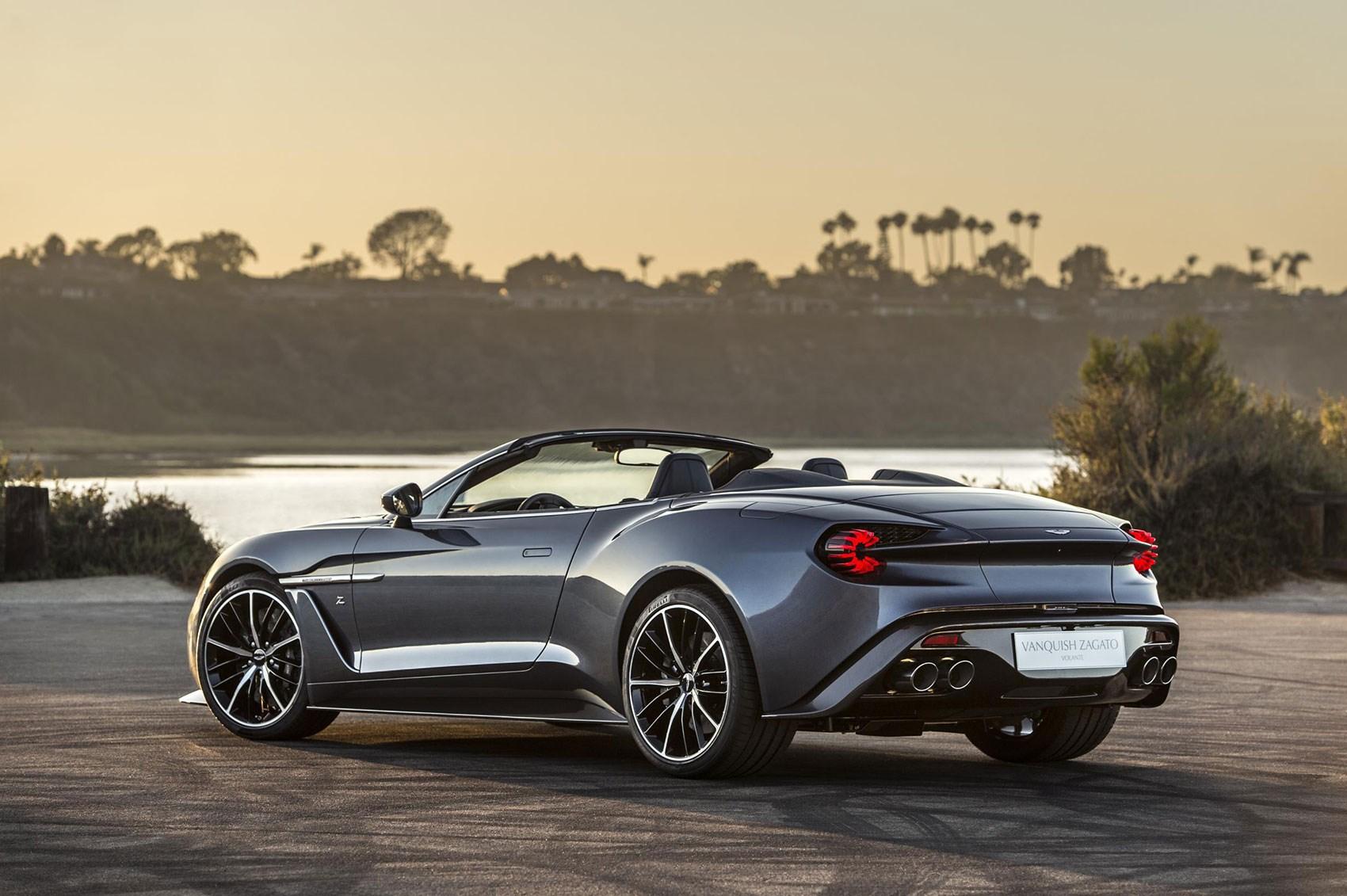 Aston Martin Vanquish Zagato Shooting Brake And Speedster In