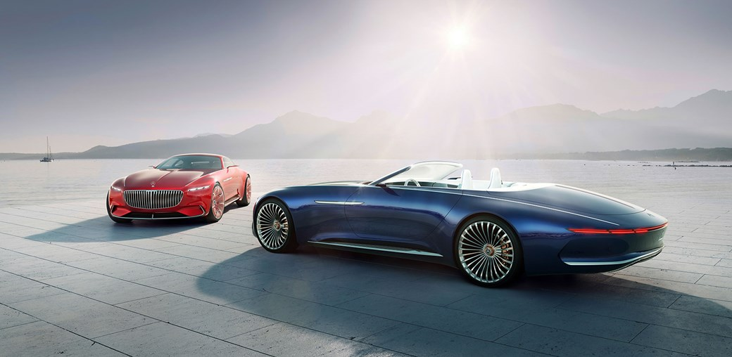The Mercedes Maybach Vision 6 Twins Coupe And Now A Cabriolet Too