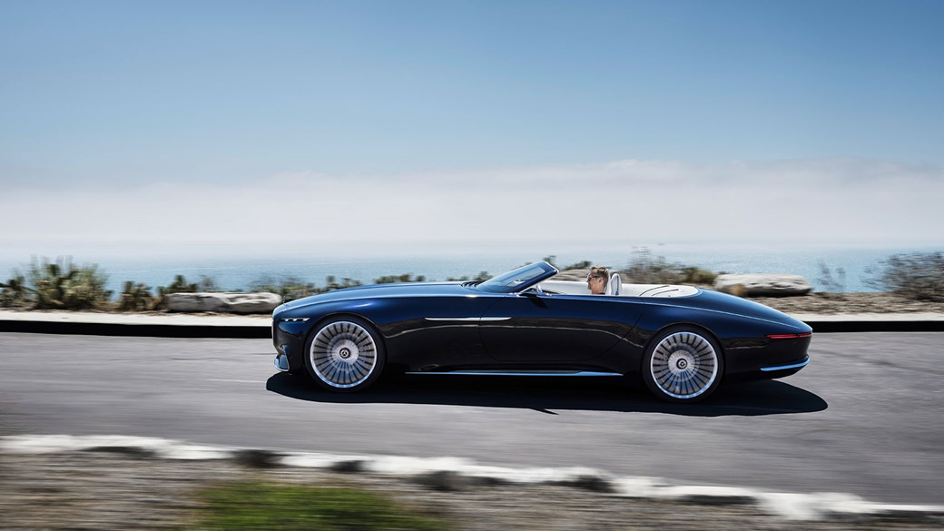 A Very American Kind Of Soft Top The New 2017 Vision Mercedes Maybach
