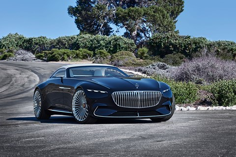 Vision Mercedes-Maybach 6 Cabriolet: roof up