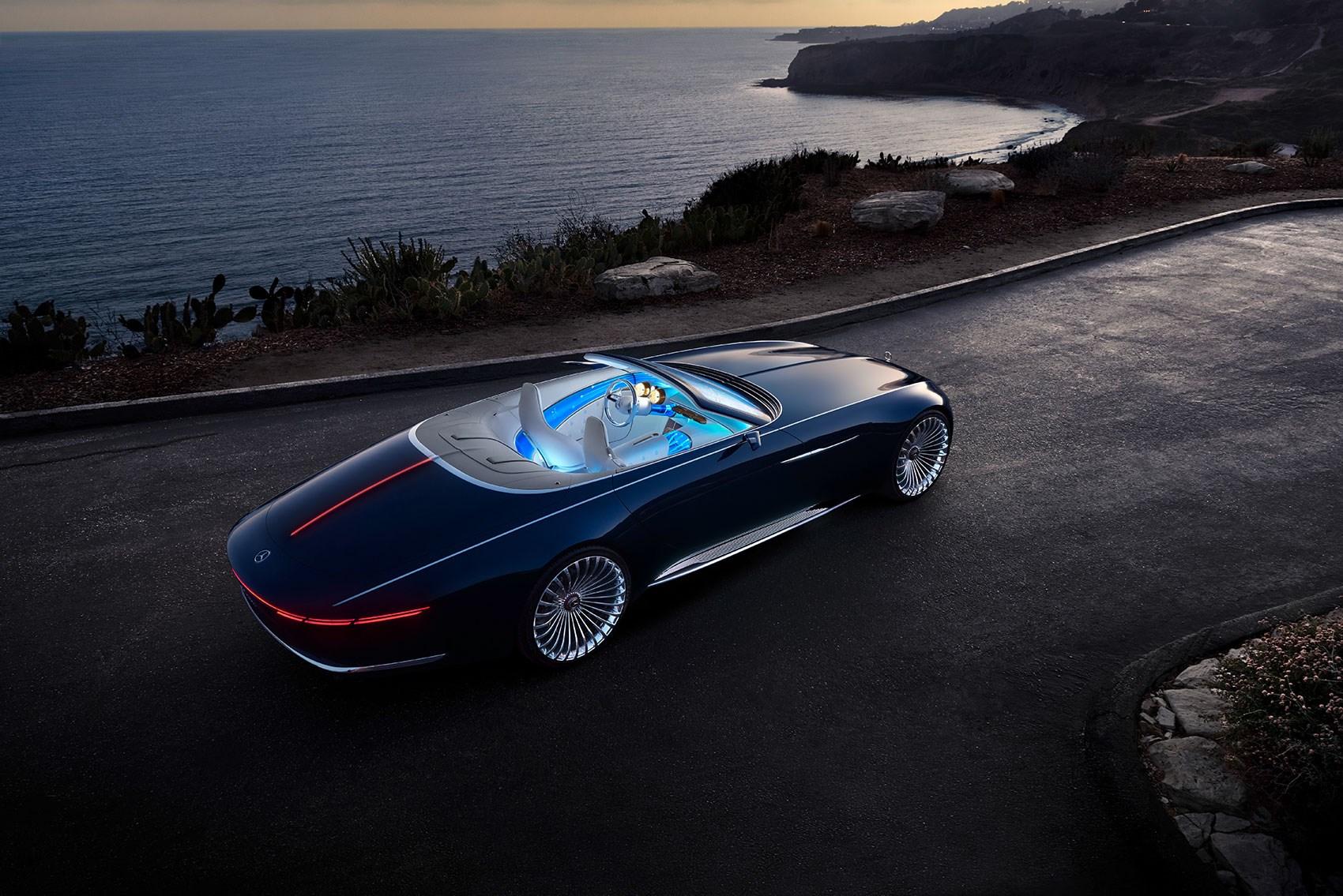 vision mercedes-maybach 6 cabriolet: news, photos, specs   car magazine