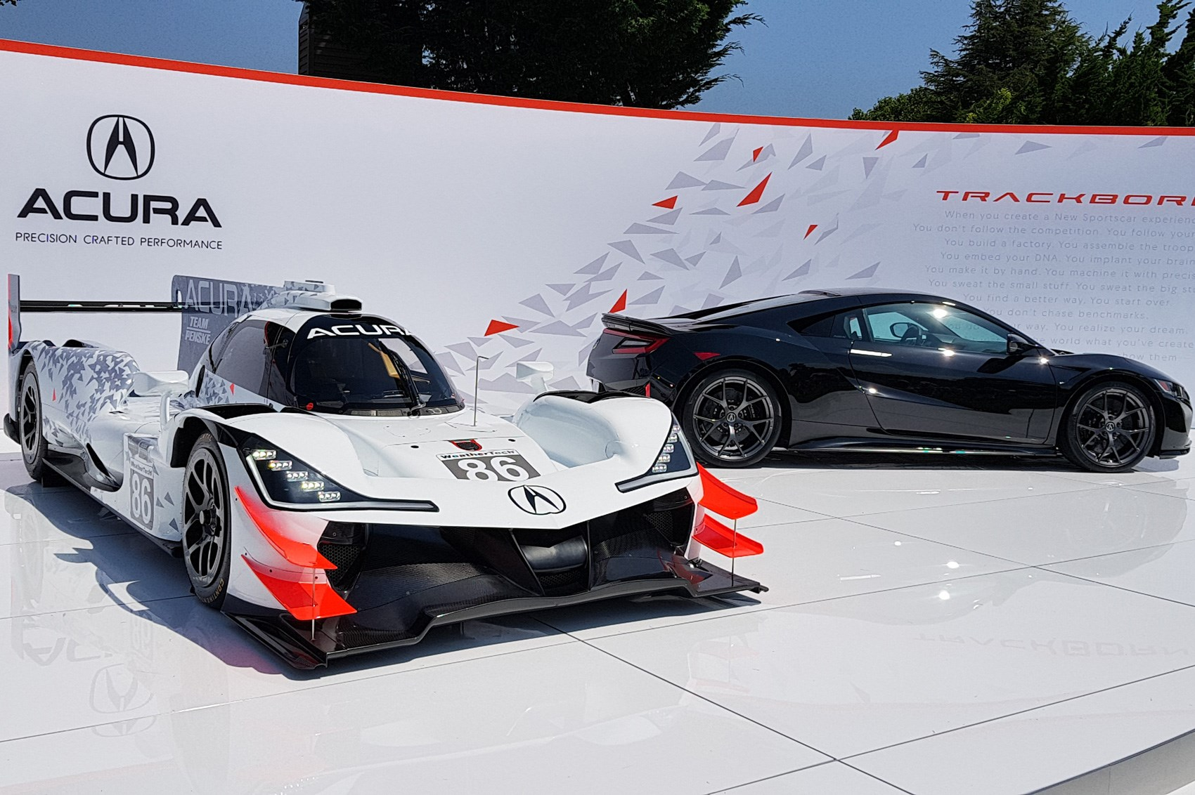 Acura Unveils New Arx 05 Racer At The Quail By Car Magazine
