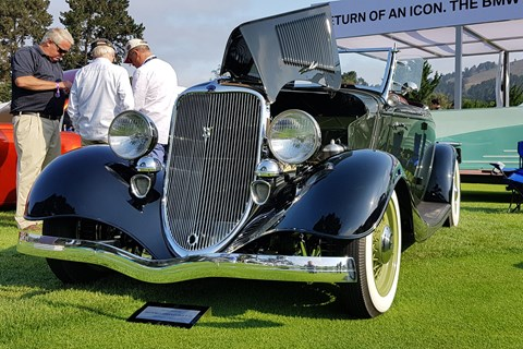 Ford Packard convertible