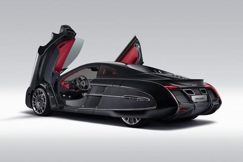 McLaren X-1 rear quarter