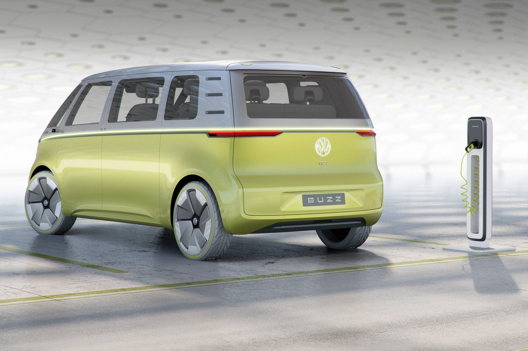 The 2017 Vw Id Buzz Concept Car