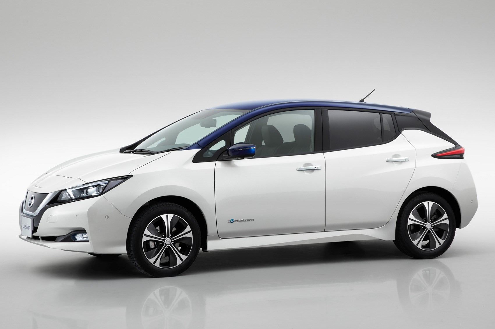 2018 nissan leaf price.  nissan official preview sketch of the new leafu0027s more squat silhouette  throughout 2018 nissan leaf price