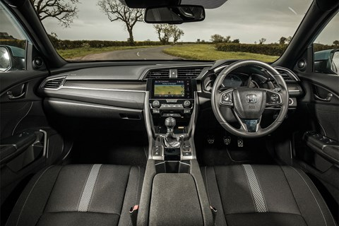 Honda Civic 2017 interior
