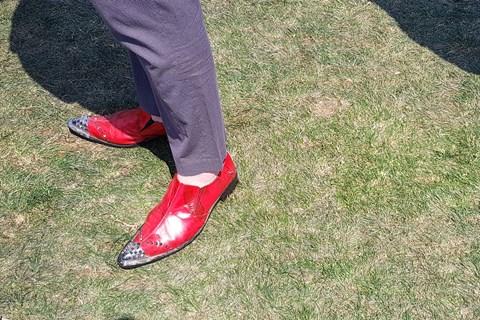 PBC17 red shoe