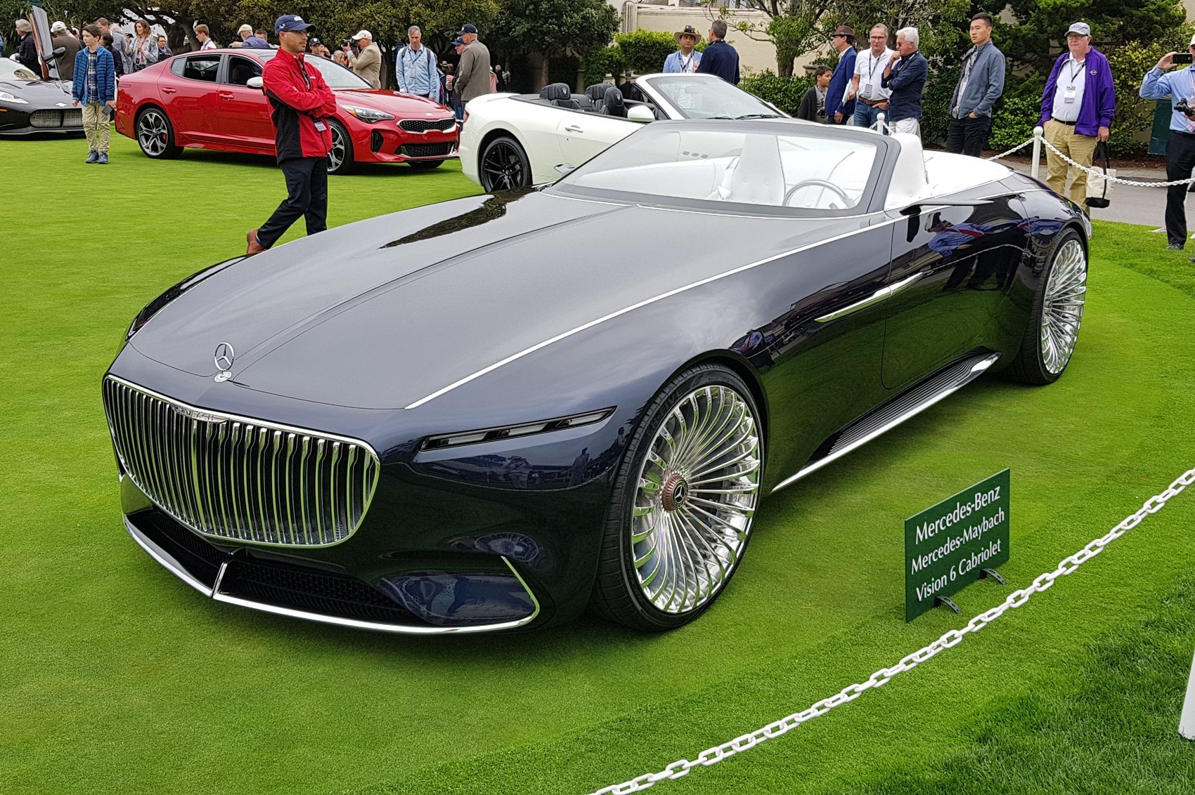 Gallery pebble beach concours d elegance 2017 in pictures - Mercedes car show ...