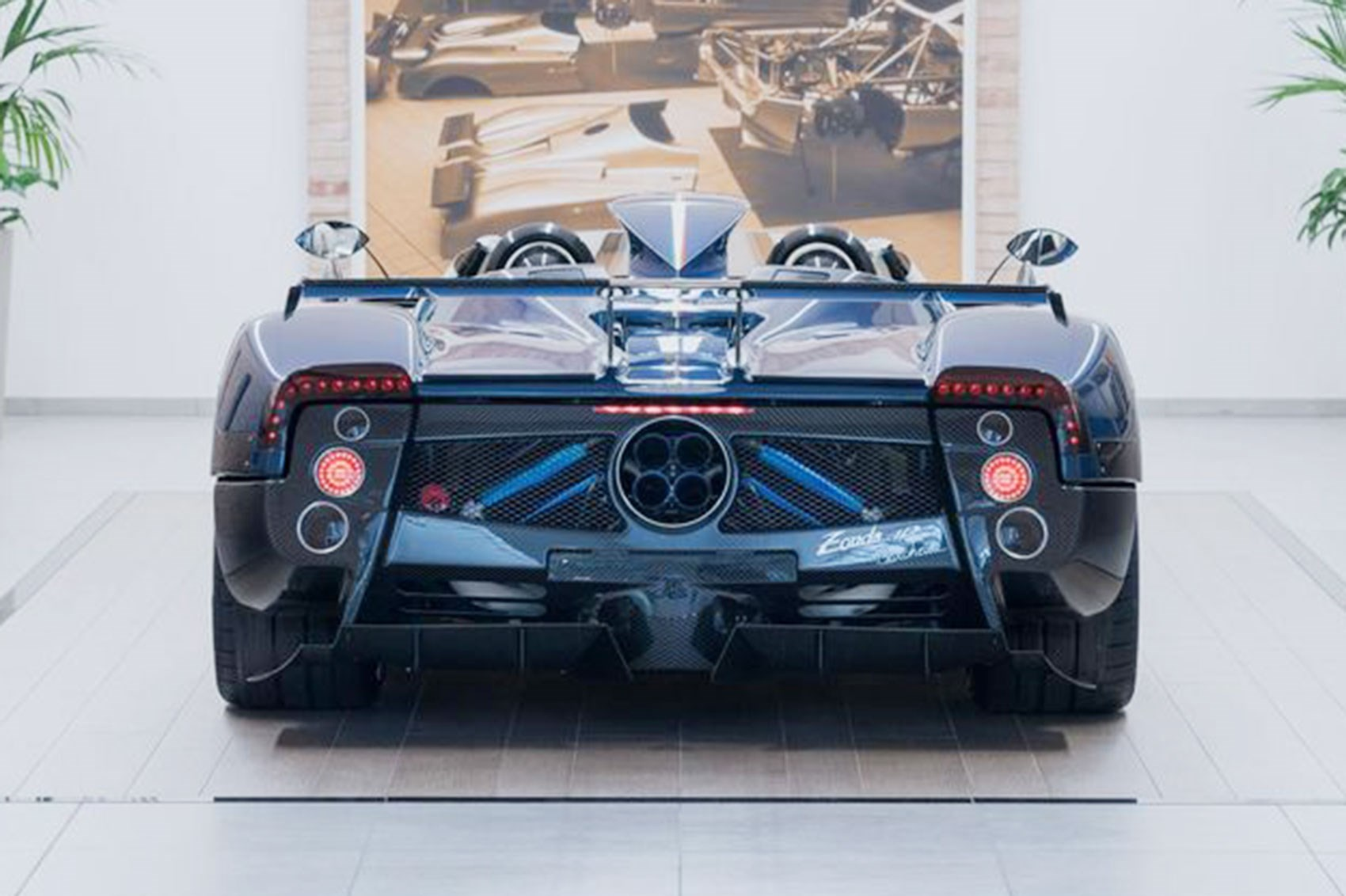 Another Last Ever Pagani Zonda The Hp Barchetta By Car