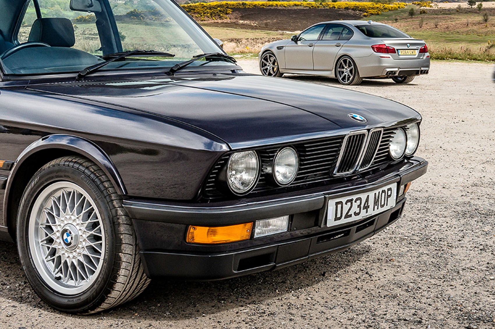 bmw m5 buying guide driving all of the first five bmw m5 generations by car magazine. Black Bedroom Furniture Sets. Home Design Ideas