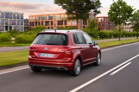 VW Golf SV: the new 2018 model year facelift