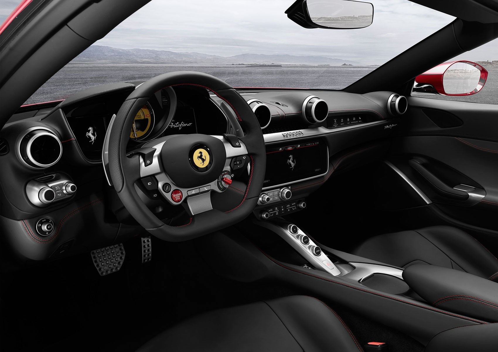 ... A 2+2 Cockpit In The Ferrari Portofino, Née California T