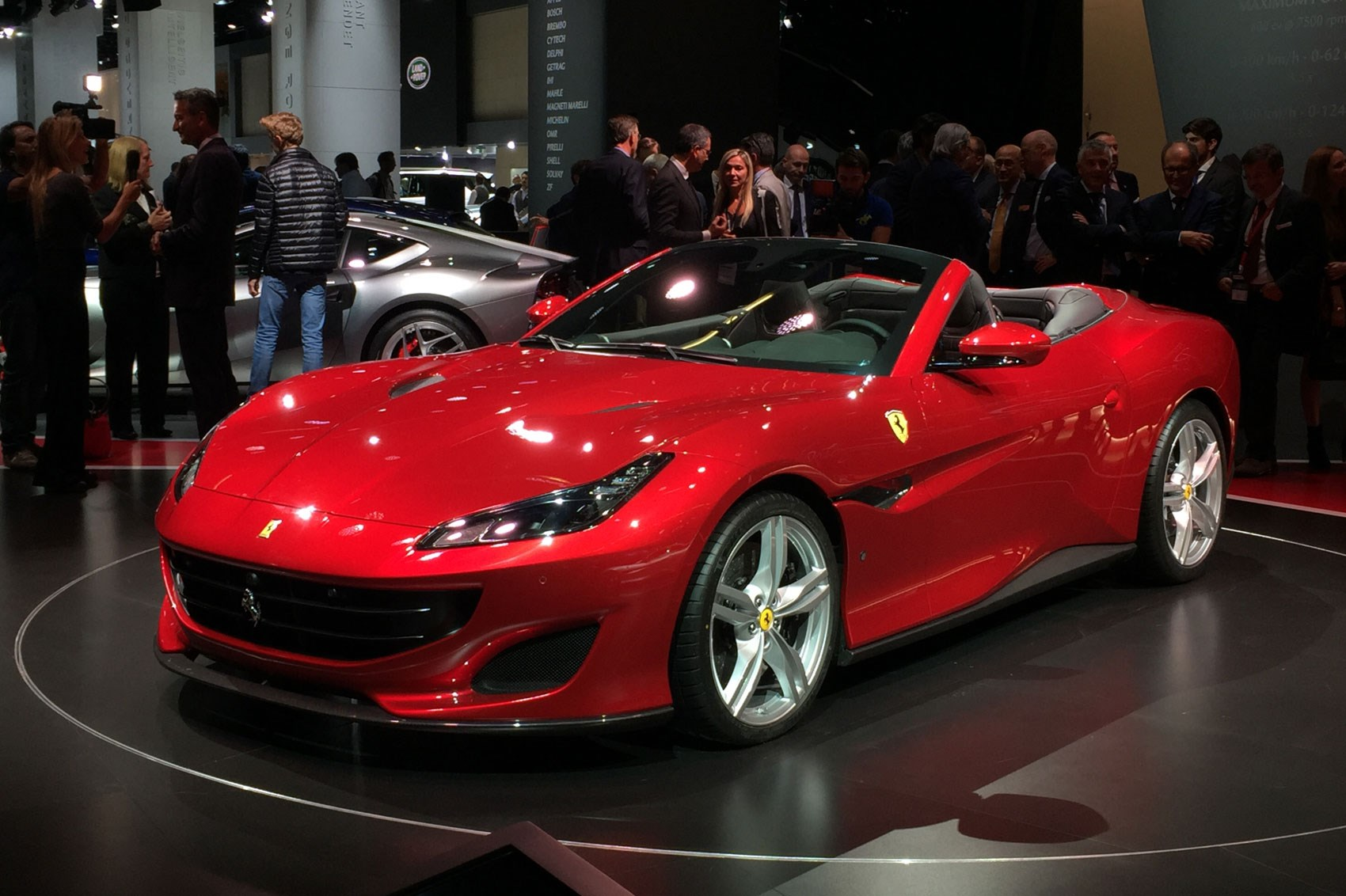 New Ferrari Portofino Revealed In Pictures CAR Magazine - Ferrari car show
