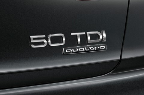 Audi A8 50 TDI Quattro: we decipher Audi's new badges and nomenclature