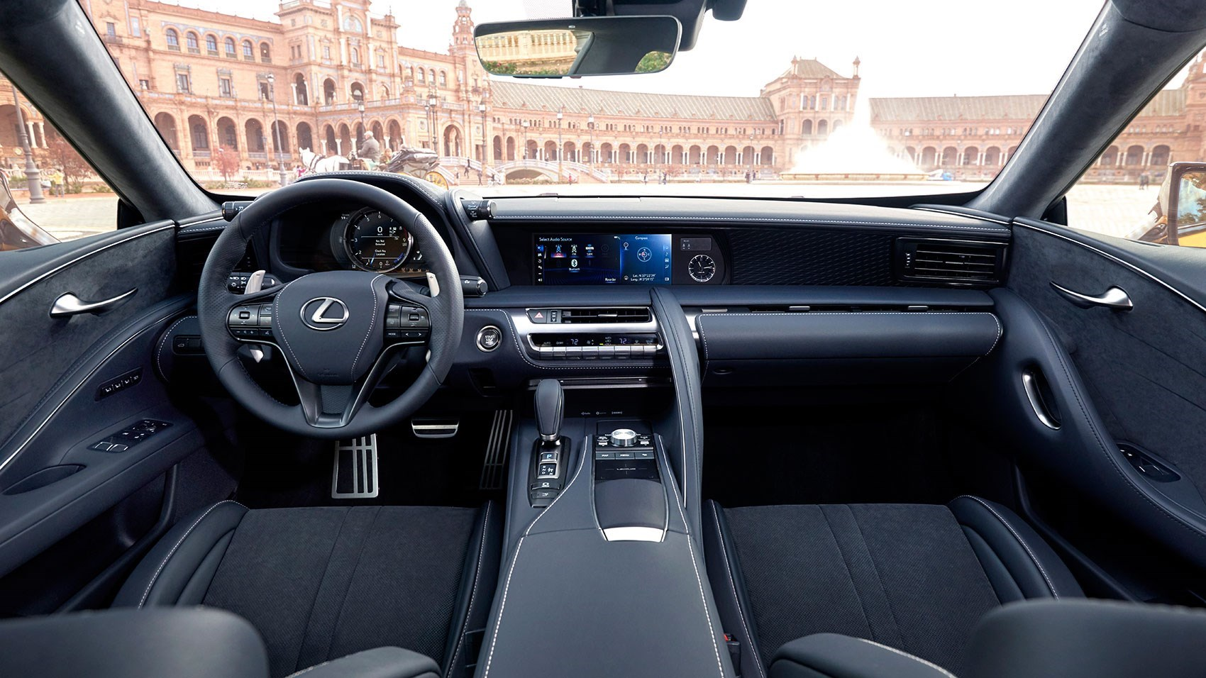Lexus LC interior and cabin