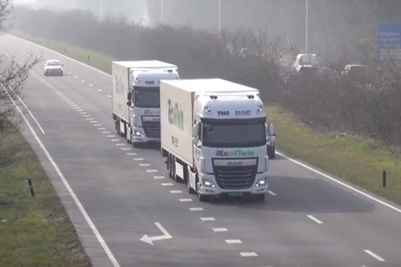 Government Lorry Tech Trial To Sync Acceleration, Braking & Steering