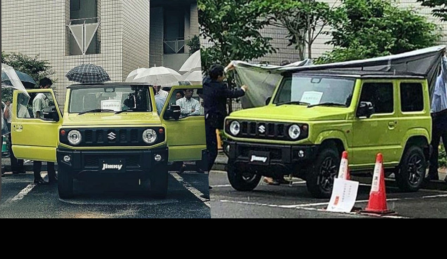 2019 Suzuki Jimny: News, Design, Release >> Suzuki Jimny Suv Cute N Rugged 4x4 Spotted Car Magazine