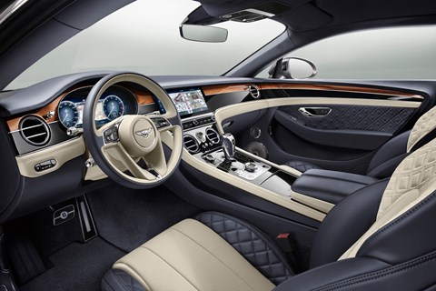 Bentley Continental GT 2018 interior