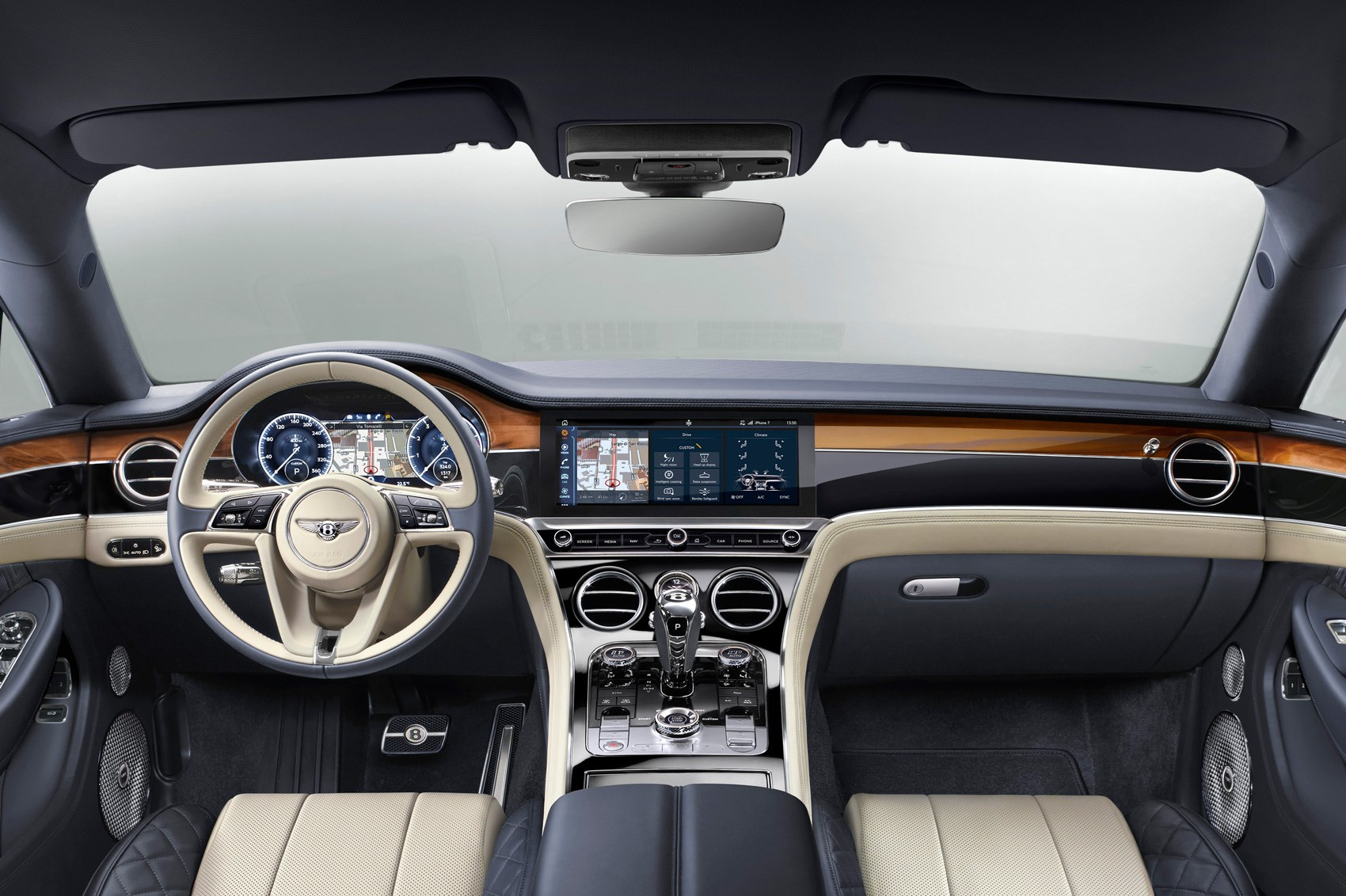 price bentley spur door continental sedan carbuyer review reviews flying saloon