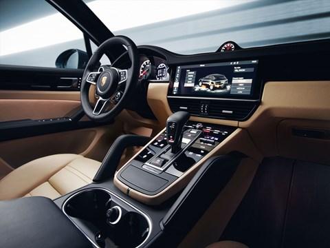 Porsche Cayenne interior: a cabin like the Panamera's