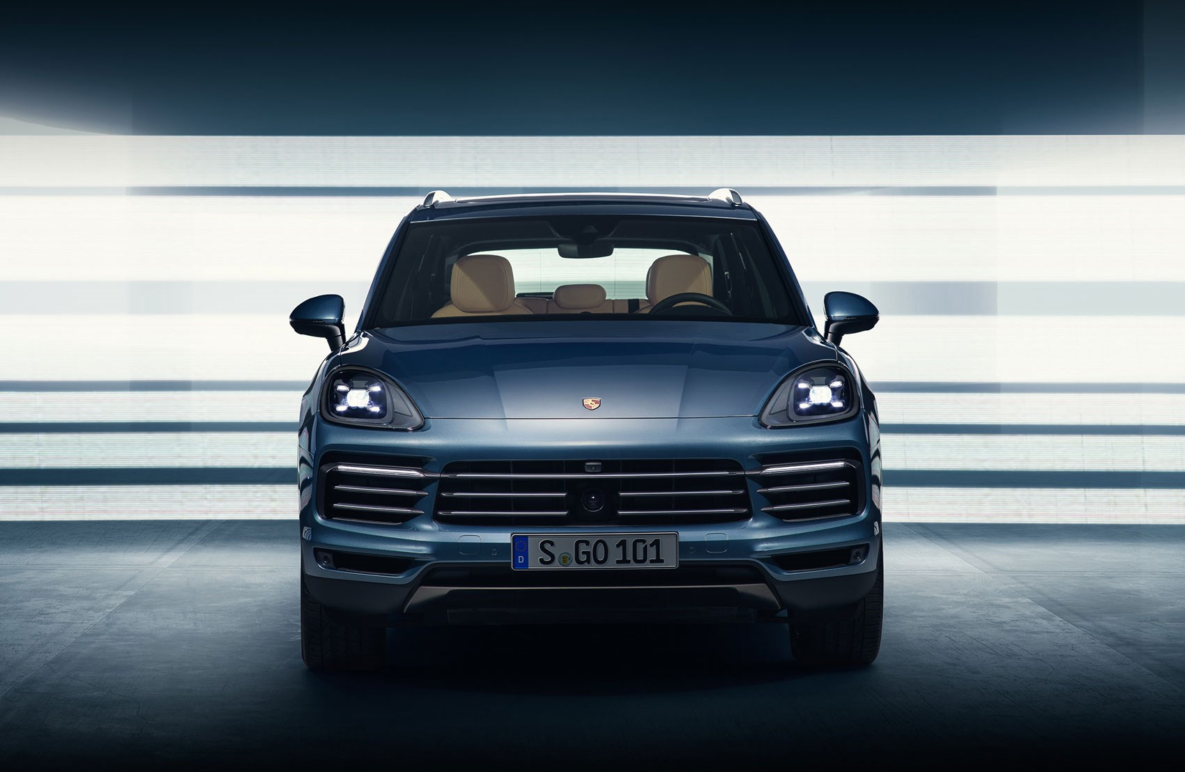 2018 One Front End Of New Porsche Cayenne Spoiled By Unsightly Radar Snout