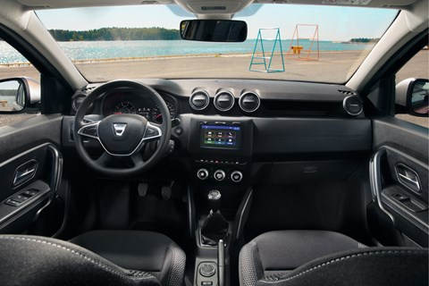 2018 Dacia Duster interior