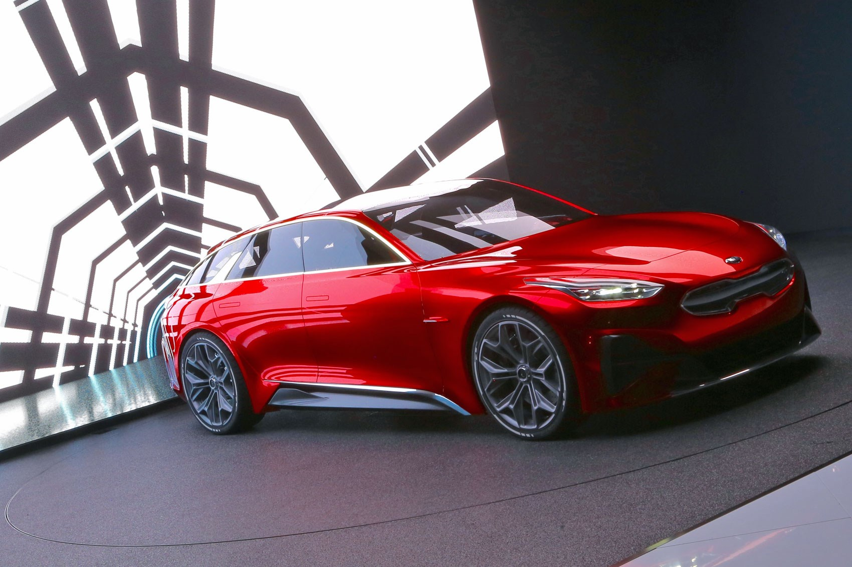Kia Proceed Concept Shooting Brake Live From Frankfurt 2017 Car