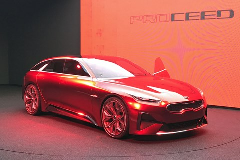 Kia Proceed Concept at Frankfurt 2017