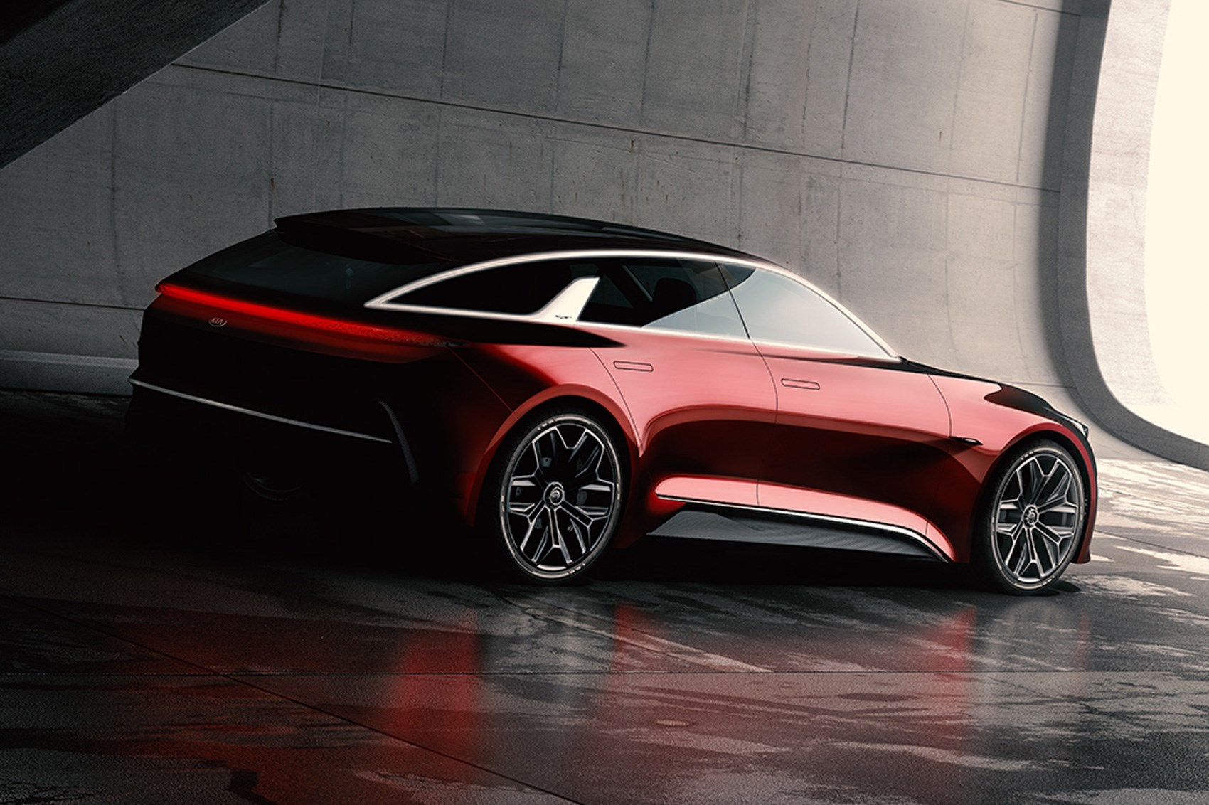 Kia teases next-generation cee'd with shooting brake concept