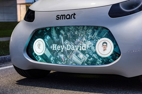 Smart Vision EQ ForTwo personalised