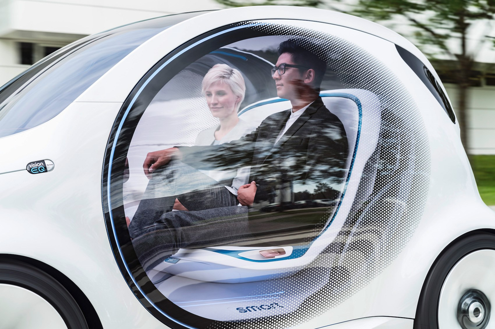 77549c0f8 Smart Vision EQ ForTwo concept: how 2030 will benefit ride-sharers ...