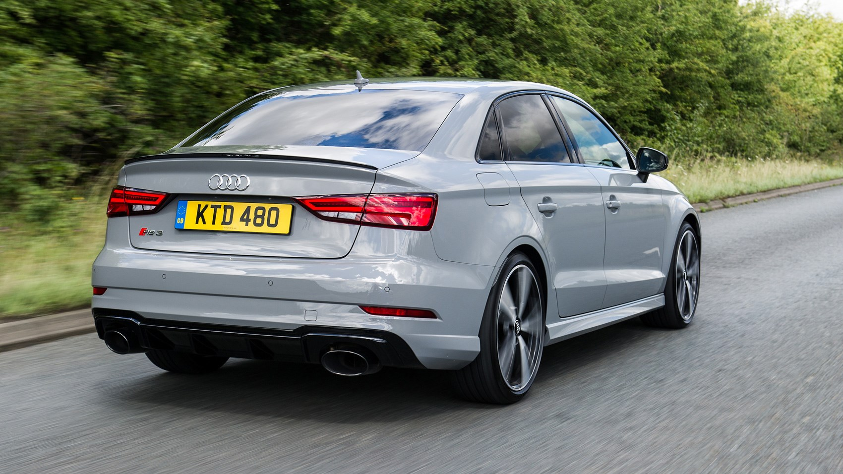audi rs3 saloon 2017 review by car magazine