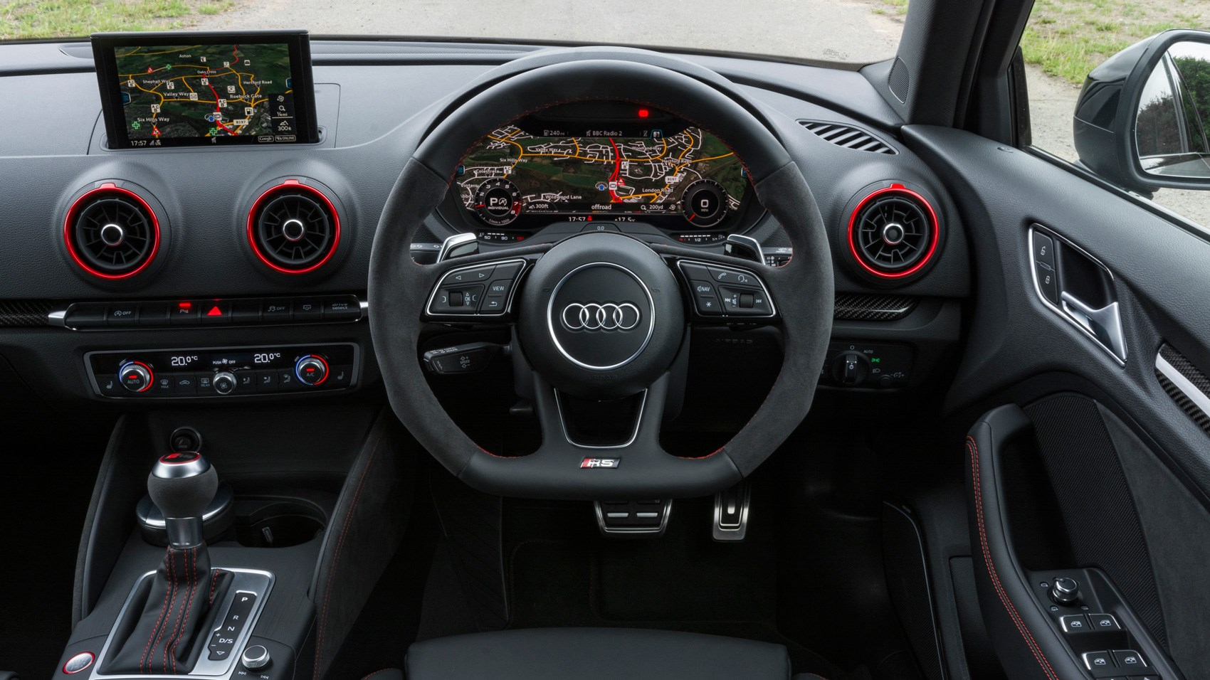 Audi RS3 Saloon interior