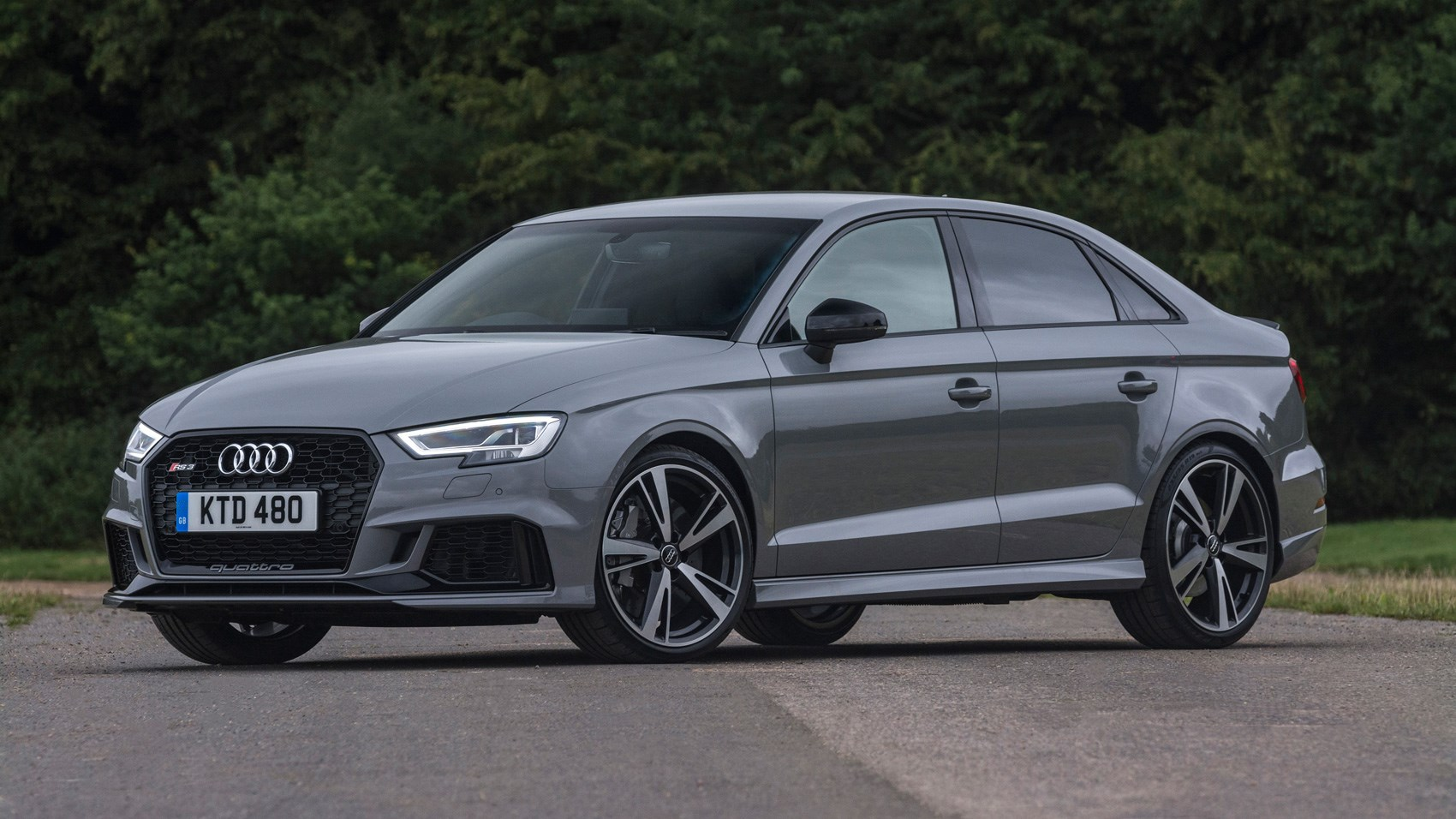 audi rs3 saloon 2017 review by car magazine. Black Bedroom Furniture Sets. Home Design Ideas