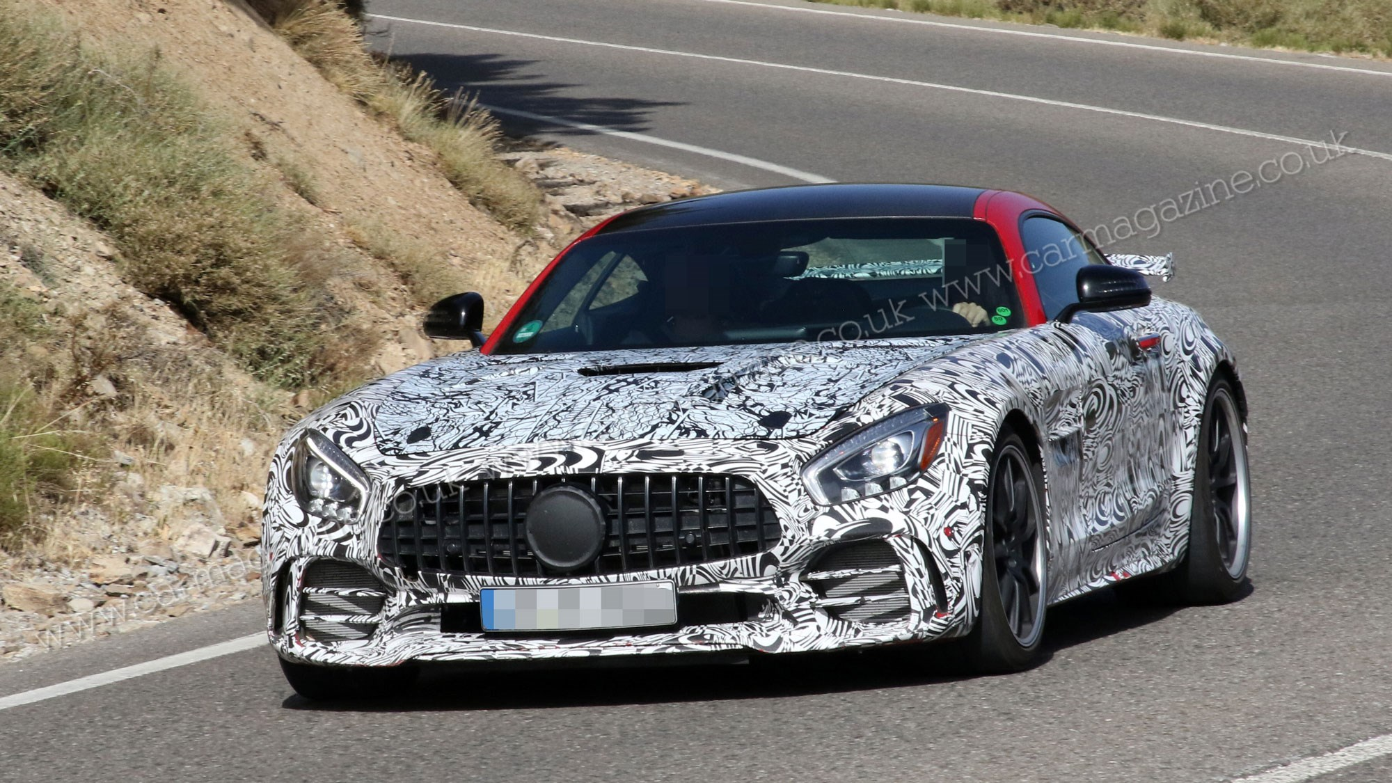 Mercedes Amg Gt Black Series Goes Testing Car Magazine