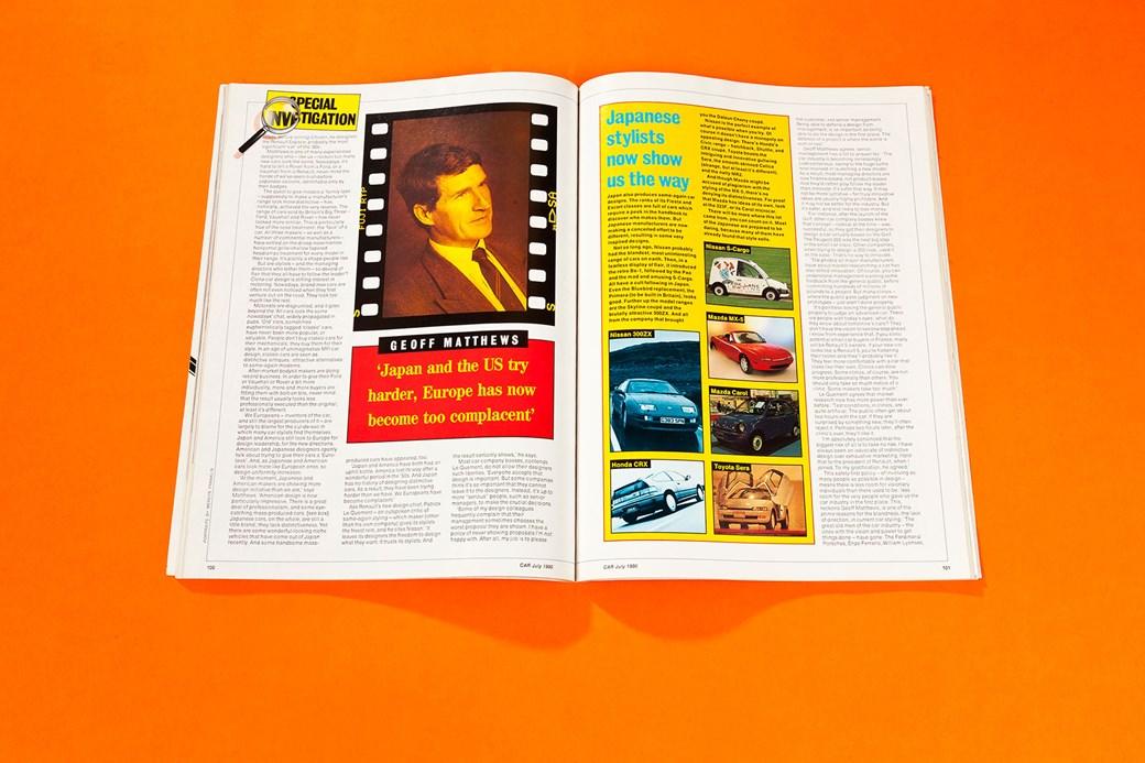 Gavin Green On Copycat Styling Car Archive July 1990 Car Magazine