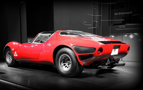 Alfa Romeo 33 Stradale rear view