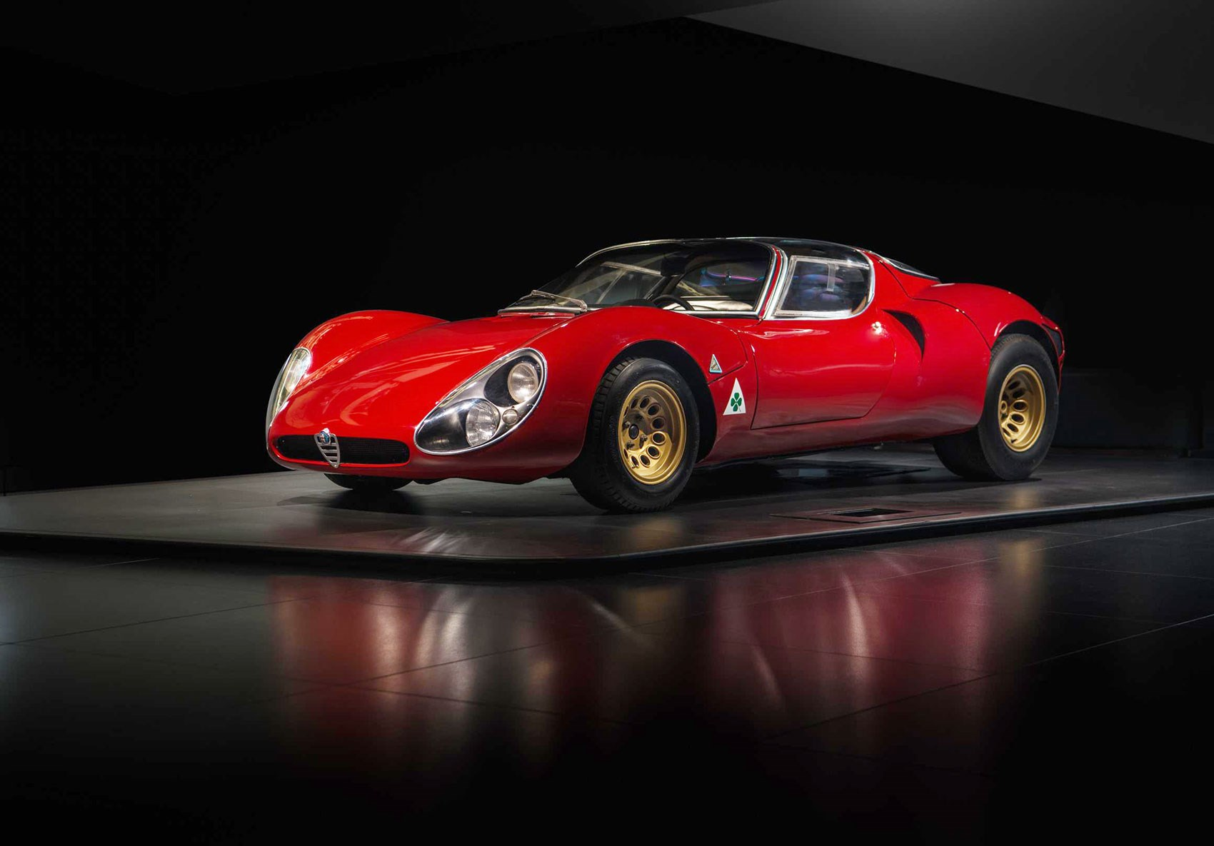 Alfa Romeo 33 Straddle Golden Anniversary Car Magazine