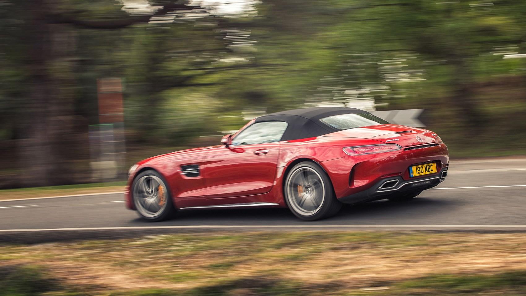 Mercedes Amg Gt C Roadster 2017 Uk Road Test Review Car Magazine