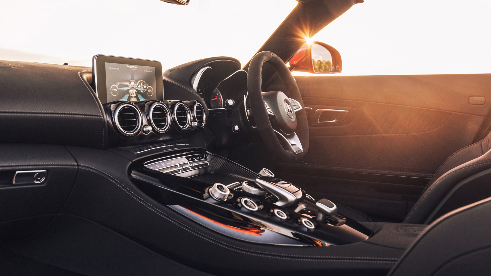 AMG GT C Roadster interior