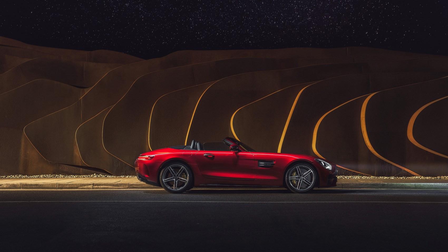 AMG GT C Roadster side