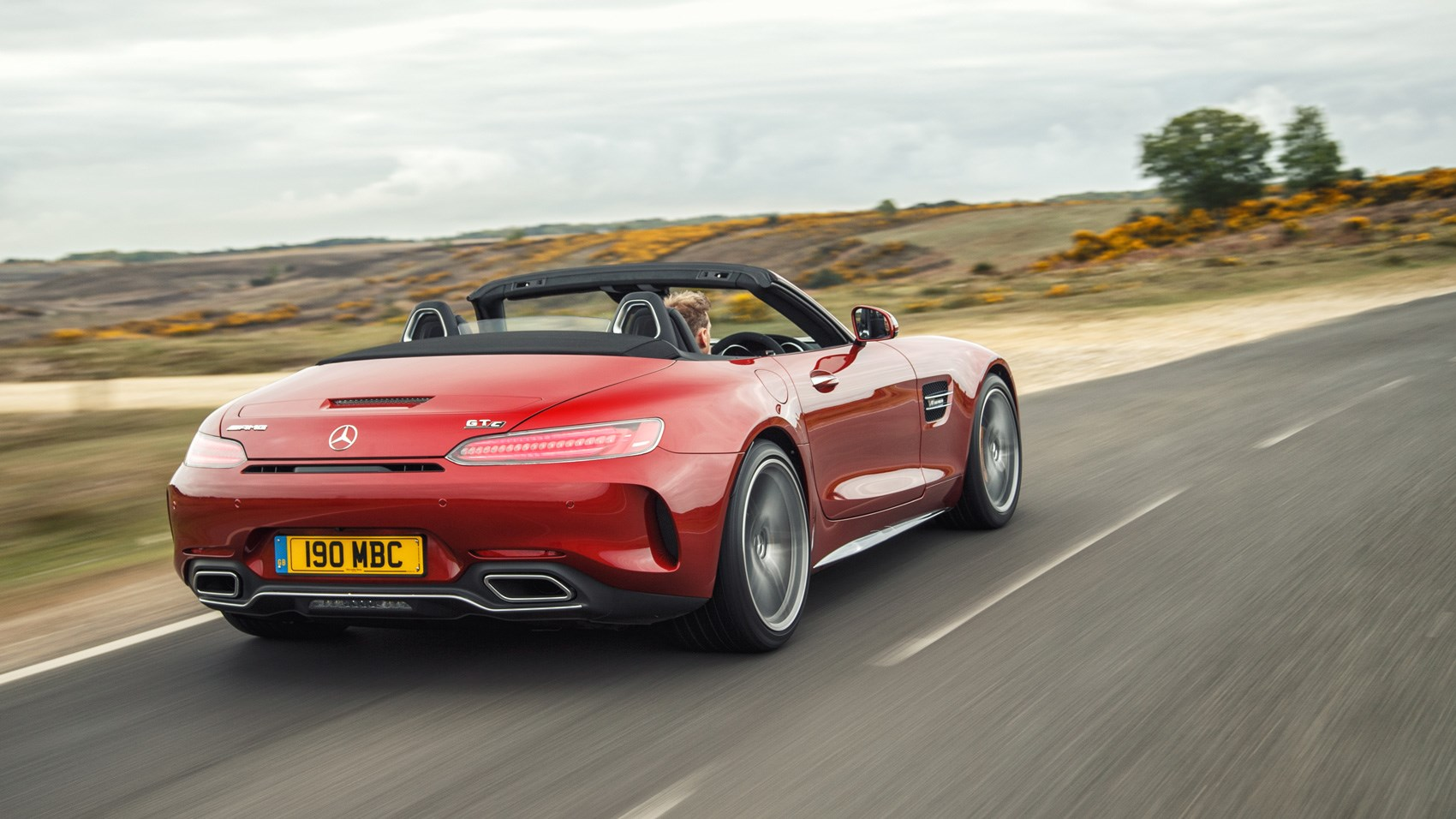 mercedes amg gt c roadster 2017 uk road test review car magazine. Black Bedroom Furniture Sets. Home Design Ideas