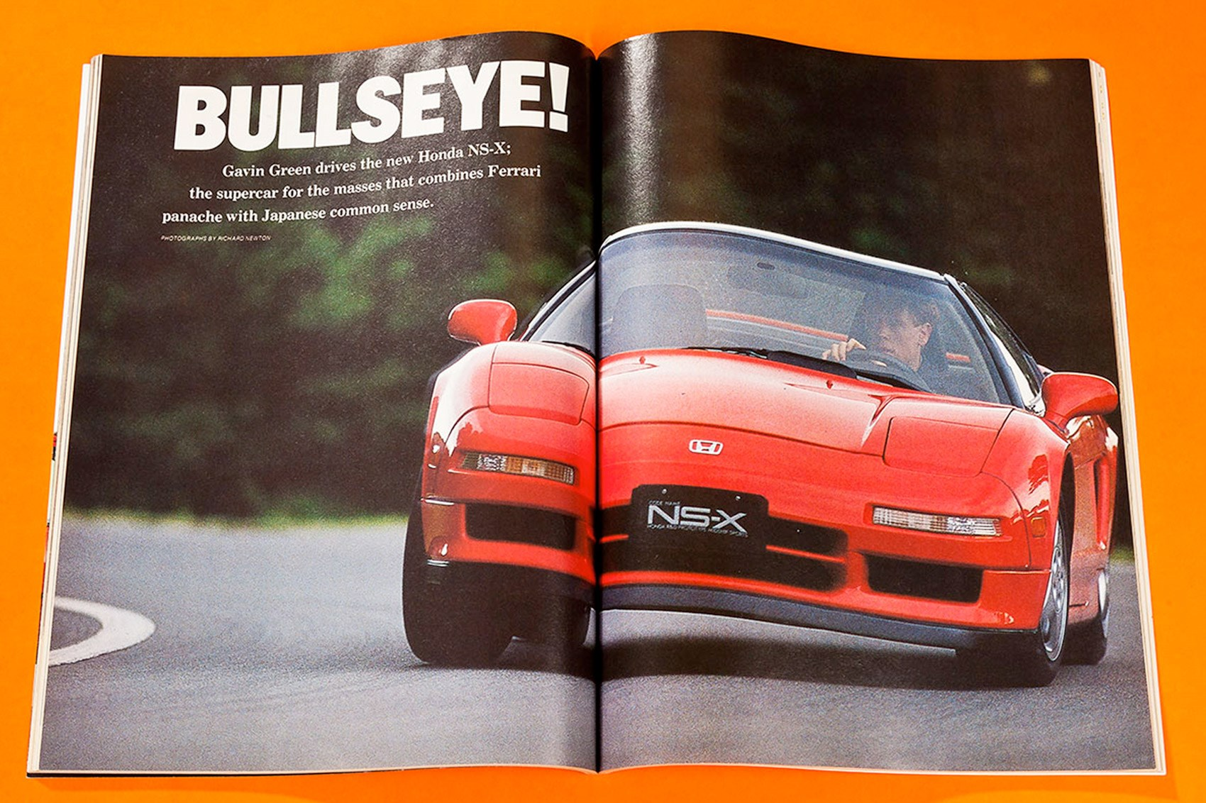 When Car First Drove The Honda Nsx Archive August 1989