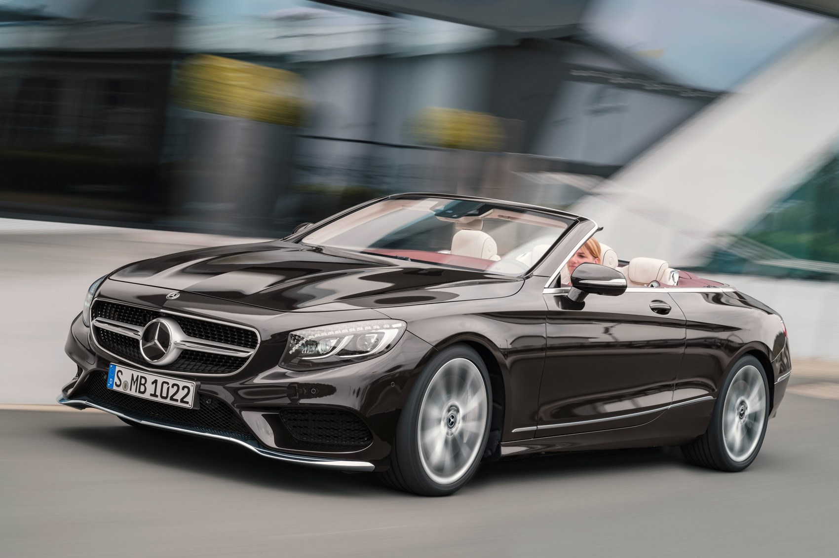 New Mercedes coupe class S
