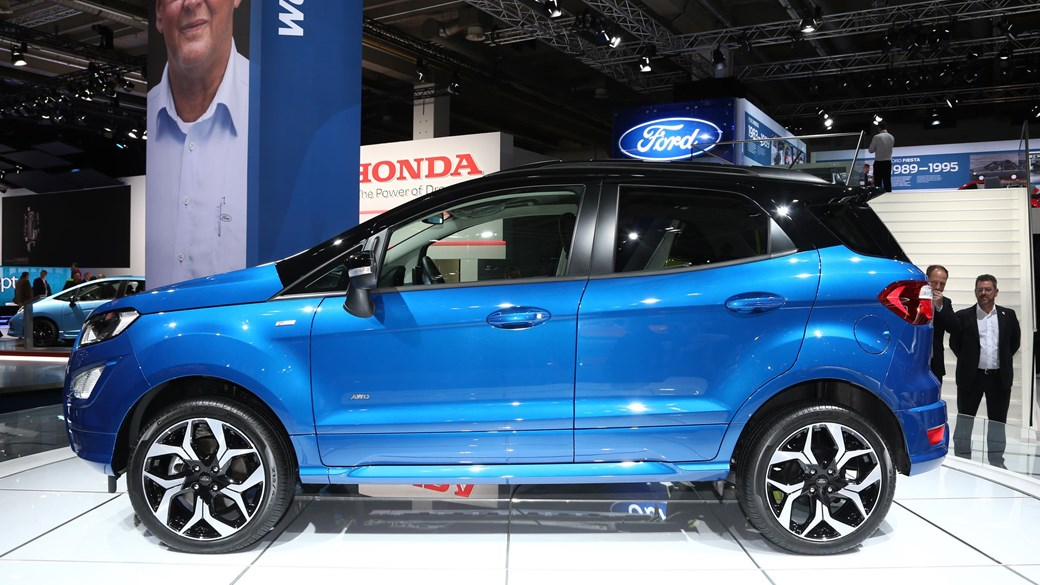 Baby Ford Ecosport Receives Some Mid Life Love