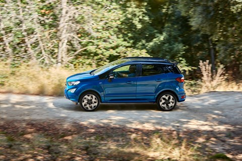 Ford EcoSport 2017 side panning